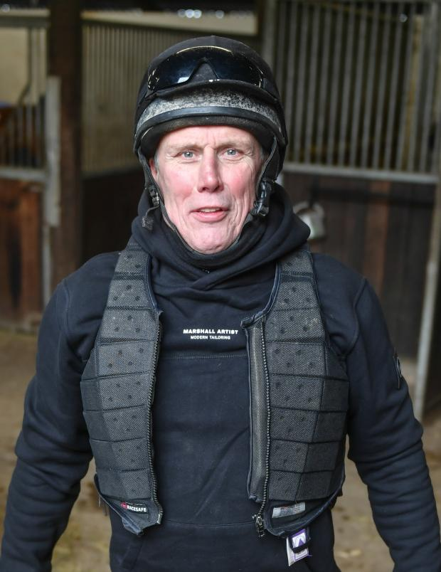 The Northern Echo: Bez preparing for his first riding lesson