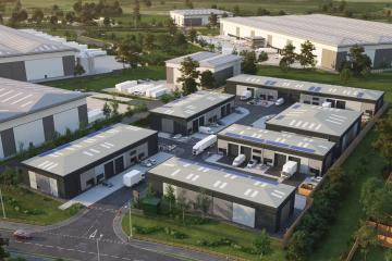 Small, modern business units to be built near Amazon Durham