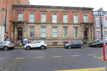 Student flat plan for listed old law courts in Sunderland