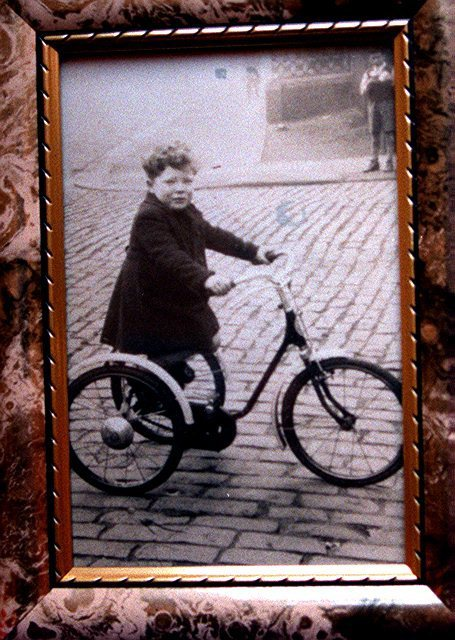 George Reynolds as a young boy in Sunderland