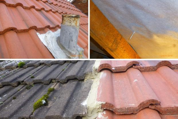Images by Hartlepool's trading standards team of the work carried out