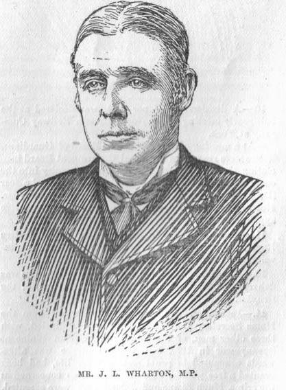 The Northern Echo: John Lloyd Wharton who was elected 150 years ago this week as the Conservative MP for Durham City