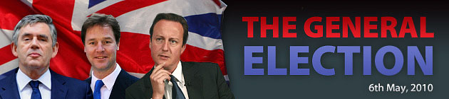 The Northern Echo: Election Banner