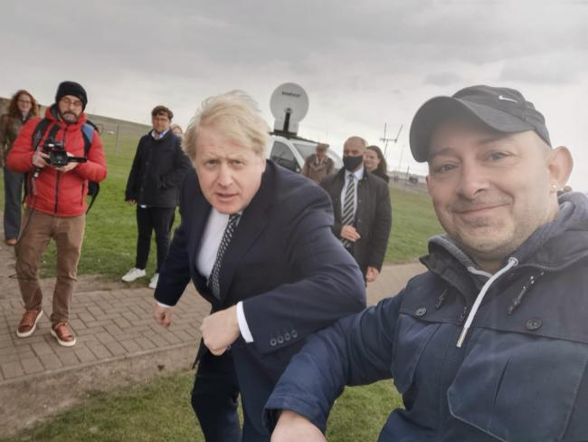 Boris Johnson in Hartlepool AGAIN with just days to go until by-election