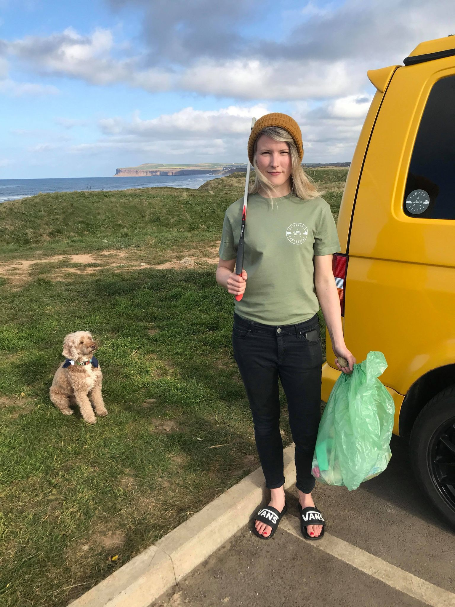 North-East woman launches campaign urging campervans litter pick