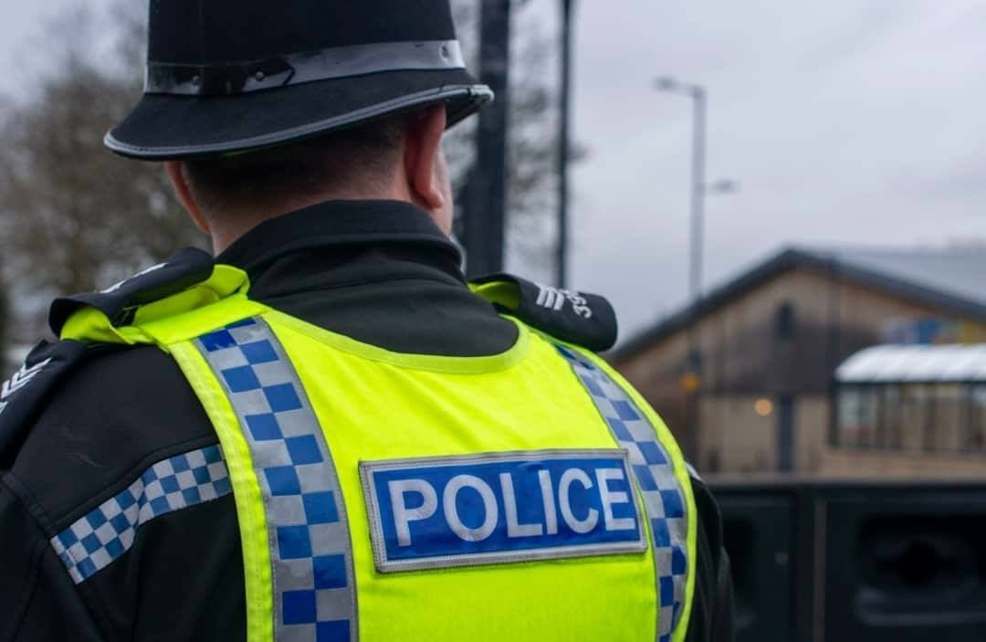 Two teenagers, 14, arrested after a report of suspected firearms
