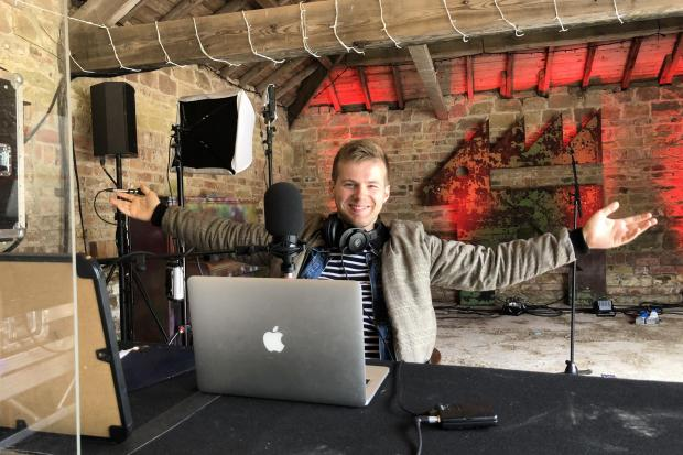 Meet the Yorkshire man presenting a radio show across the world from his garden shed