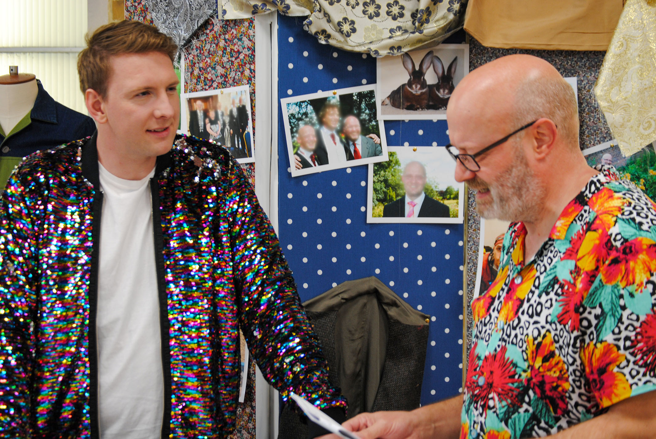 The Great British Sewing Bee: Joe Lycett and Andrew