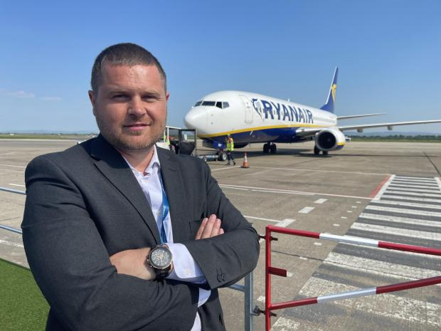 The Northern Echo: Phil Forster, Managing Director at Teesside Airport Picture: JIM SCOTT