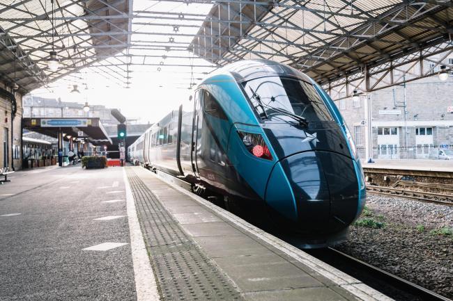 TransPennine Express train. Picture: Stuart Bailey
