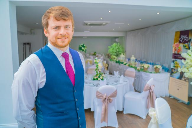James Leeds, general manager of the Parkmore Hotel,