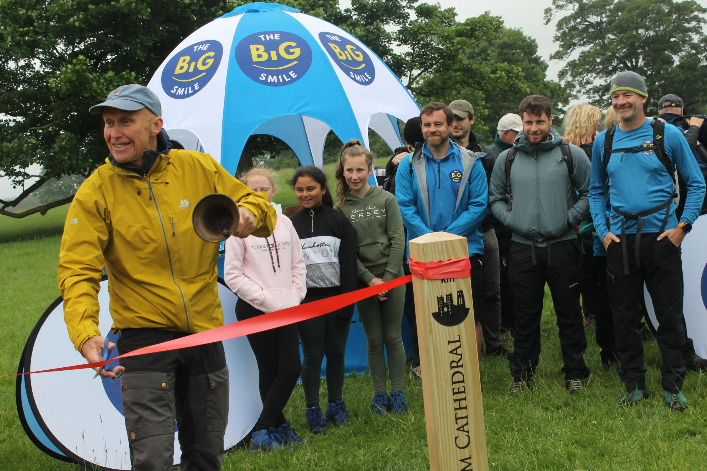 The first steps to making a difference – walking campaign starts at Raby Castle