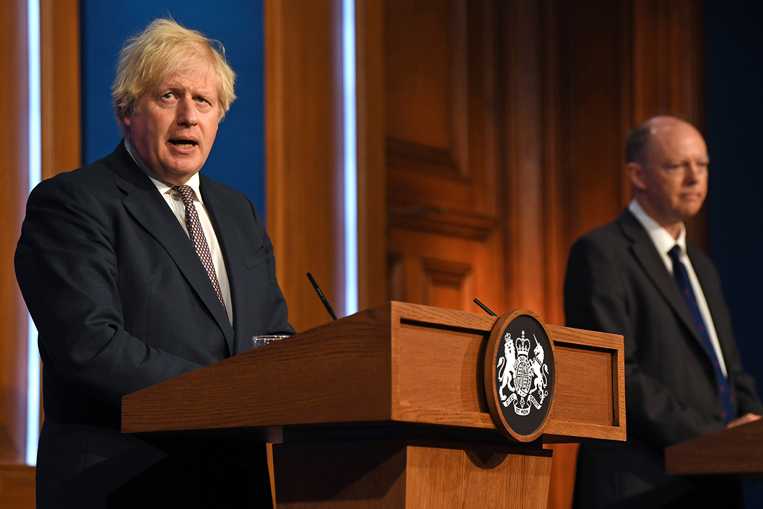 Downing Street press conference: Boris Johnson reveals details of 'freedom day'