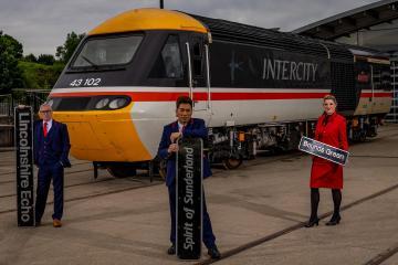 'Spirit of Sunderland' nameplate from LNER 125 sells for THOUSANDS