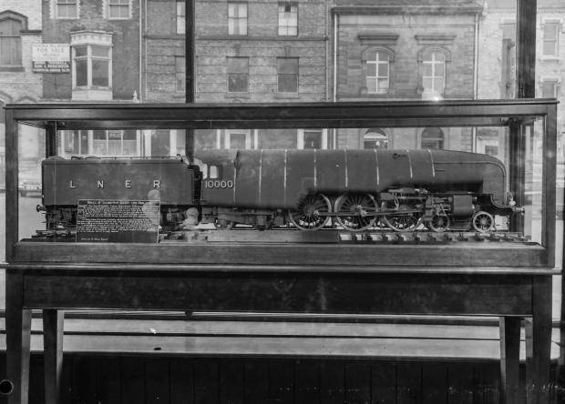 The Northern Echo: One of the models in the Tubwell Row museum, with the far side of the street in the distance. Picture from the Gordon Coates collection, courtesy of Peter Giroux