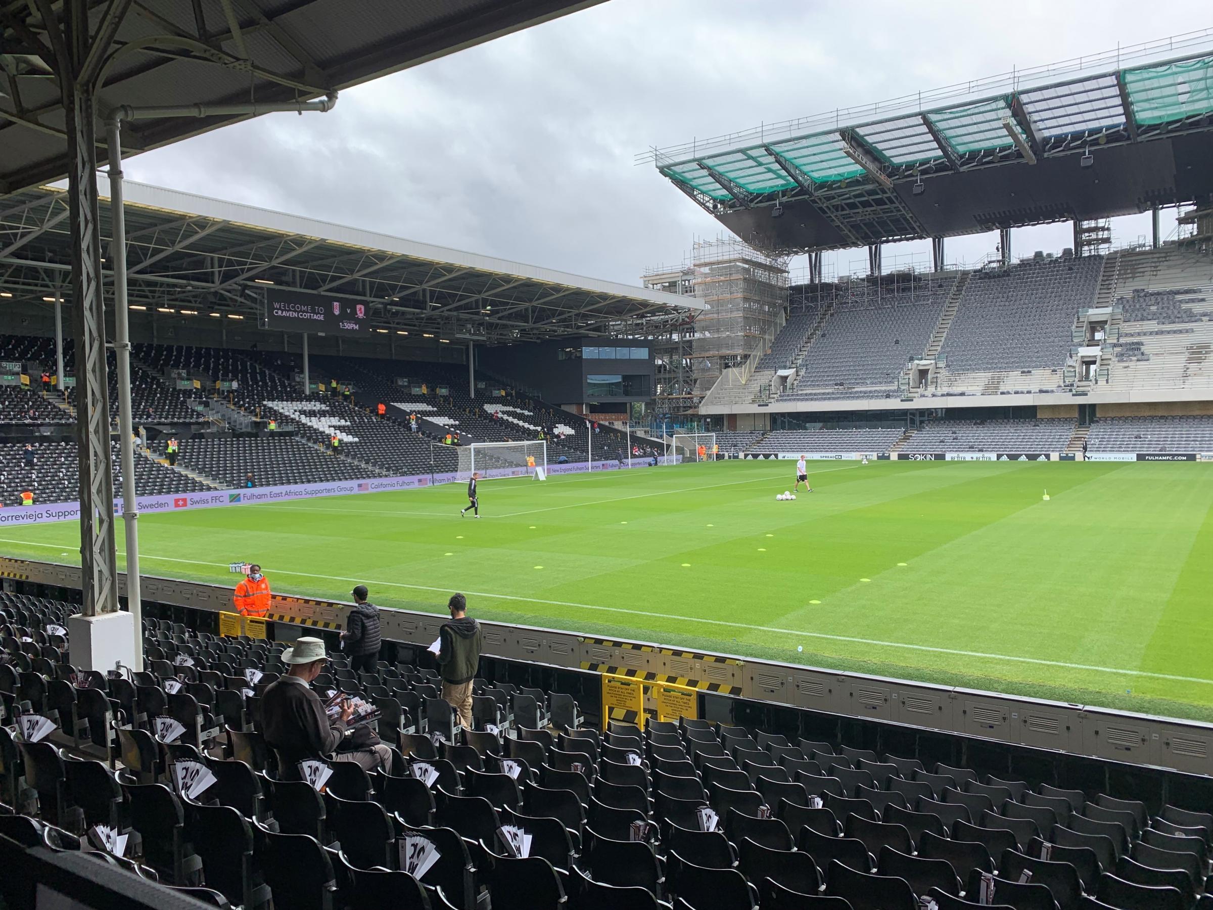 LIVE BLOG: Fulham vs Middlesbrough (Championship)