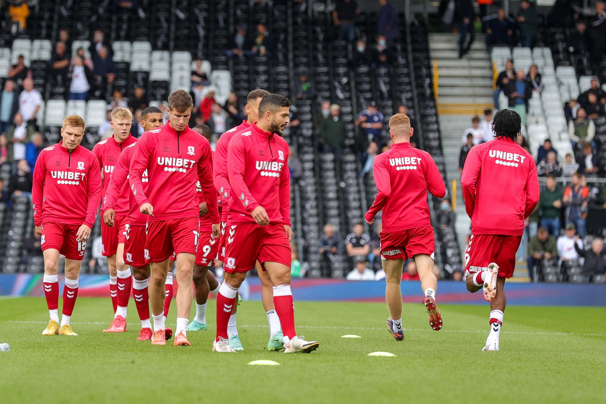 LIVE BLOG: Fulham 0-0 Middlesbrough (Championship)