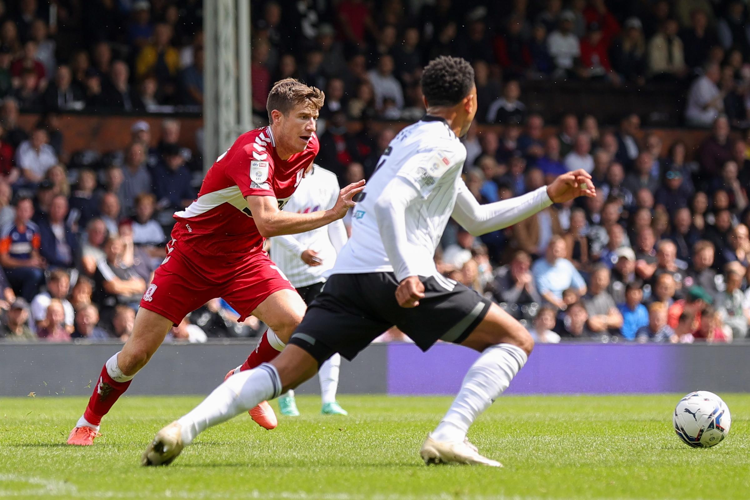 LIVE BLOG: Fulham 1-0 Middlesbrough (Championship)