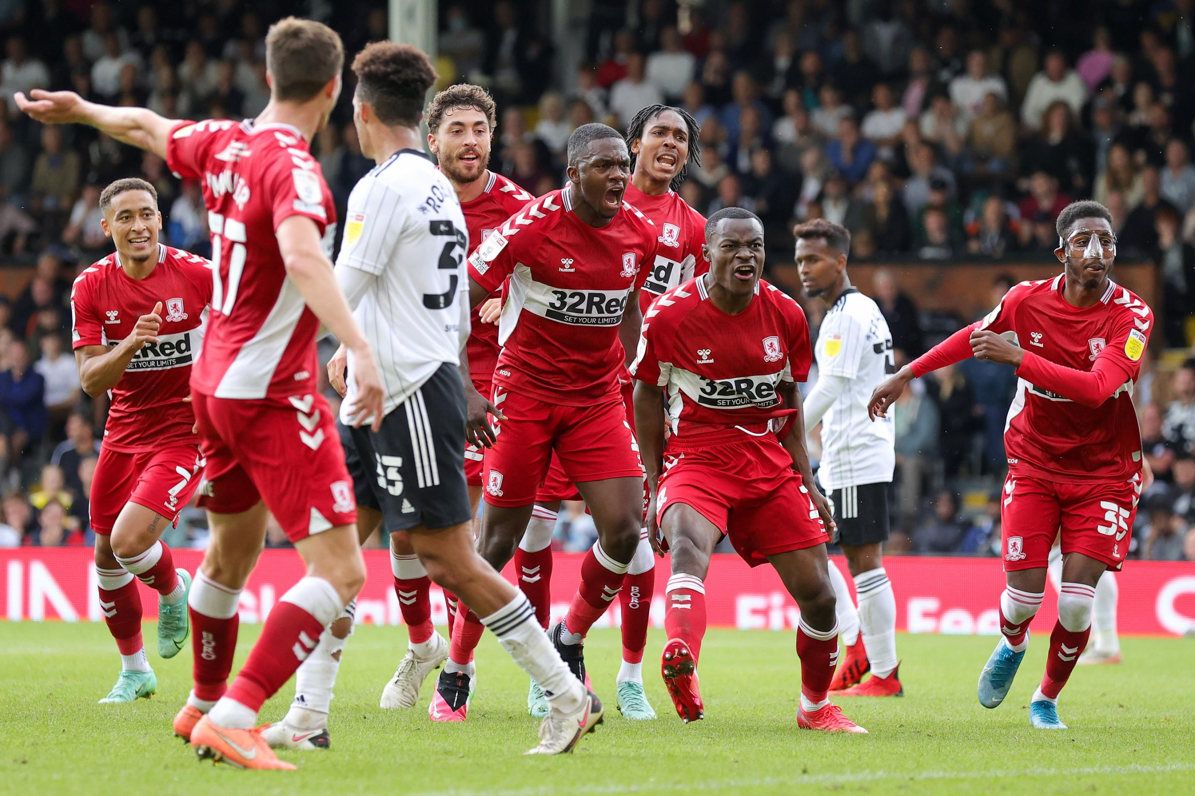 How did Boro's players rate in their draw at Craven Cottage?
