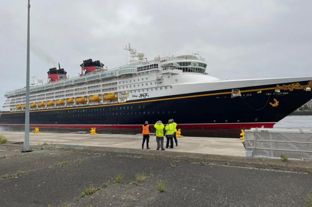 The Northern Echo: The Disney Magic on Friday Picture: NORTHERN ECHO