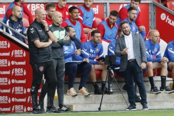 Lee Johnson reflects on Sunderland's 2-2 draw at Fleetwood