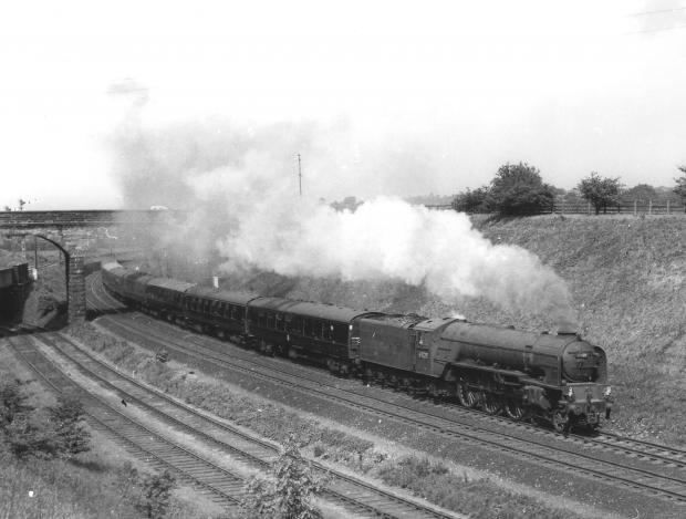 The Northern Echo: a train to Deerness Valley Junction