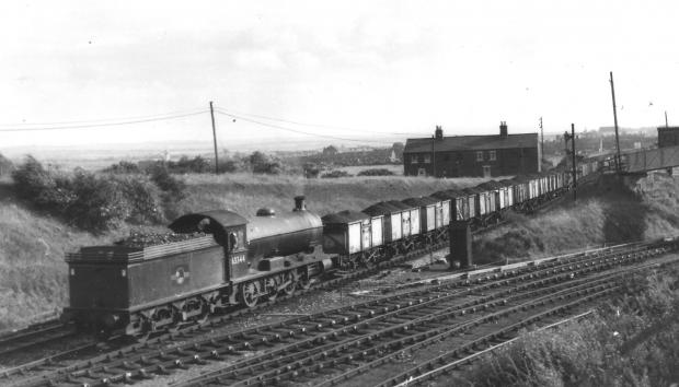 The Northern Echo: We believe this is a coal train coming out of the Broompark Coal Mine on the Deerness Valley Line