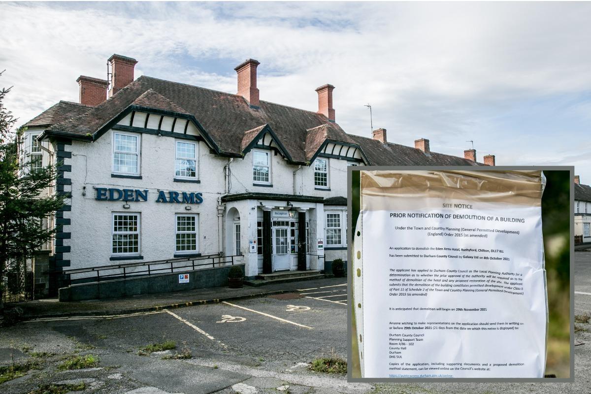 Historic England would NOT list landmark County Durham hotel facing demolition
