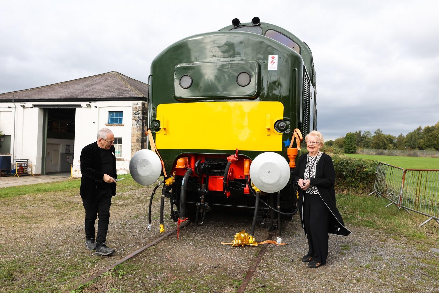 Historic locomotive returns to Darlington after 50 years away