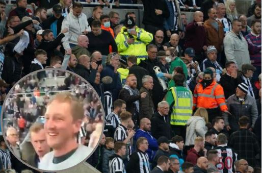 Video shows fans chanting 'hero' A&E doctor who rushed to aid of Newcastle fan