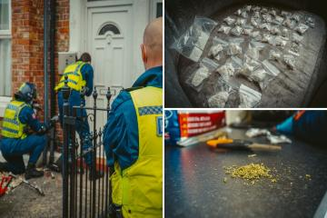 Northumbria Police arrest 28 people in County Lines crackdown