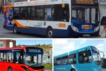 £804m plans to upgrade North East bus network and services