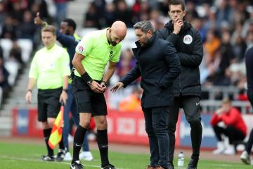 Lee Johnson claims Jayden Stockley head-butted Tom Flanagan