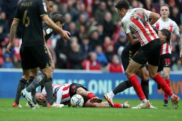 Sunderland lost out to Charlton's physical approach