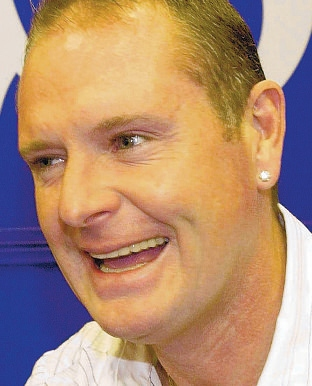 GAZZA:  Offered his support for Moat