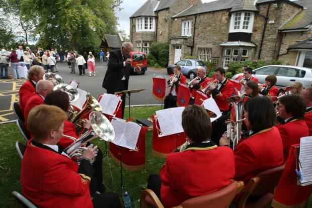 Durham Miners' Association Brass Band given shot-in-arm with funding donation from new store