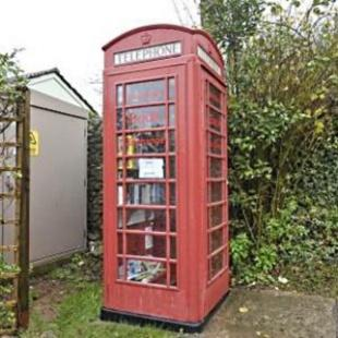 Open all hours: grocery phone box