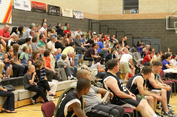 Big Crowd at TADEA Middlesbrough Lions Basketball