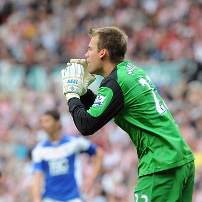 FIRST CHOICE: Simon Mignolet