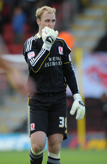 The Northern Echo: ENGLAND DUTY: Middlesbrough keeper Jason Steele
