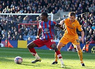 The Northern Echo: George Burley is a big fan of Wilfried Zaha
