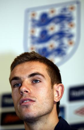 WEMBLEY START: Jordan Henderson will start for England in tonight's friendly against Peru