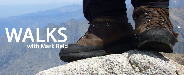 The Northern Echo: Walks with Mark Reid