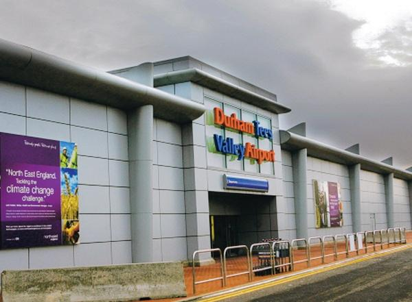 UNCERTAIN FUTURE: Durham Tees Valley Airport