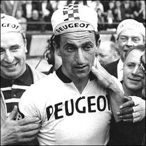 The son of a County Durham pitman, Tom Simpson was cycling's celebrity in the 1960s