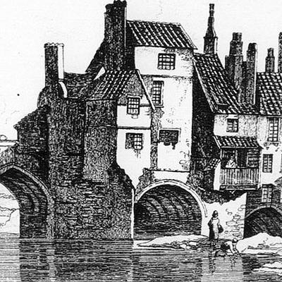 CITY PROJECT: Elvet Bridge, Durham City, which was built by Bishop Pudsey.
