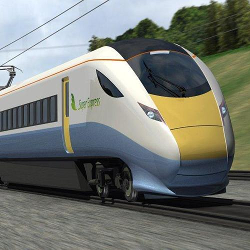 Artist's impression of proposed Hitachi Super Express