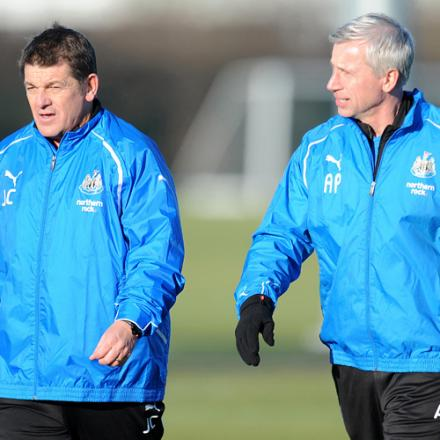IN CHARGE: John Carver will oversee Newcastle's first-team affairs during Alan Pardew's seven-game suspension