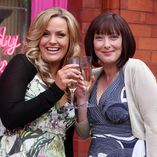 GIRL POWER: Joe Joyner and Lisa Millett, who star in Candy Cabs