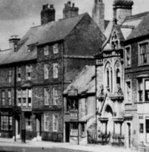 OLD ELVET: Looking towards Elvet Bridge